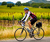 California Wine Country biking photo